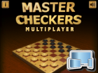 Master Checkers Multiplayer, Gratis online Spiele, Multiplayer Spiele, Dame Spiele, 2 Spieler, HTML5 Spiele